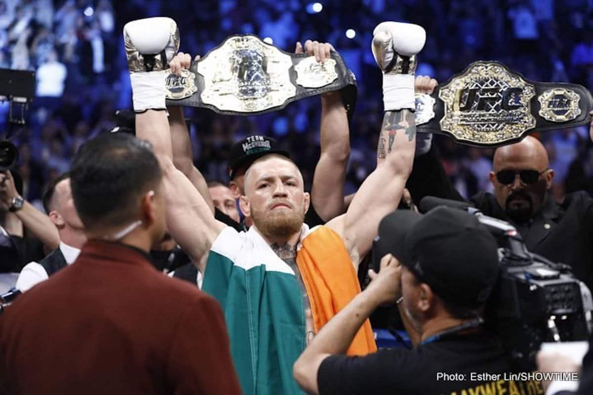MMA News: Conor McGregor, Kamaru Usman