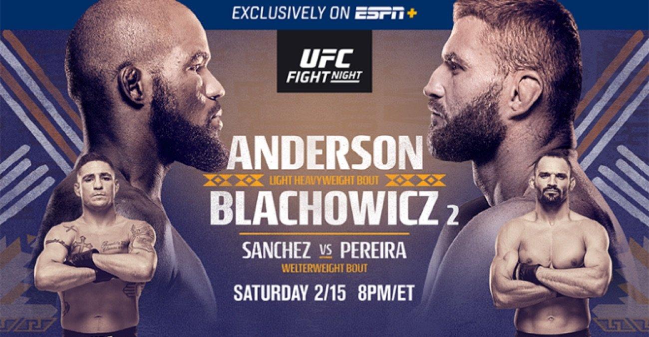 MMA News: Corey Anderson, Jan Blachowicz