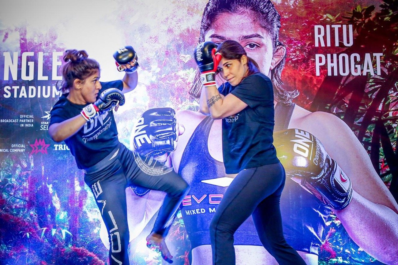 MMA News: Ritu Phogat