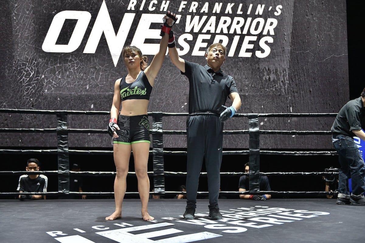 MMA News: Stamp Fairtex