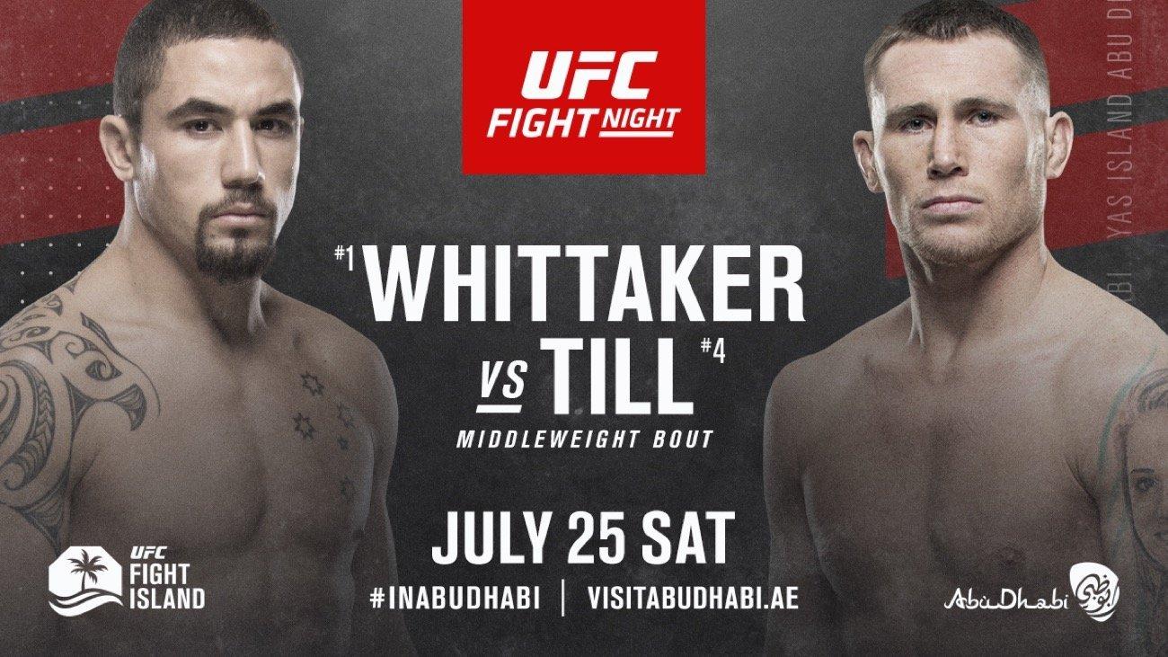 MMA News: Darren Till, Robert Whittaker