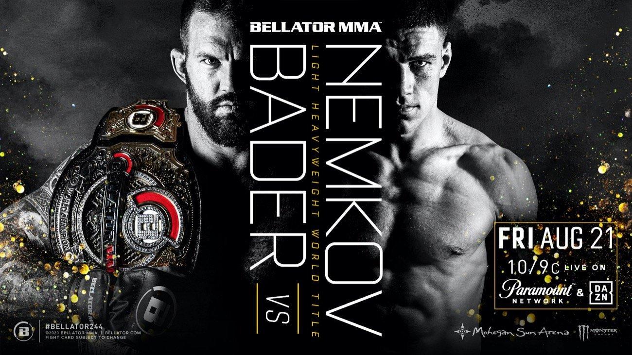 MMA News: Ryan Bader, Vadim Nemkov