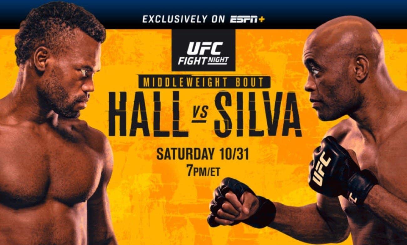 MMA News: Anderson Silva, Uriah Hall