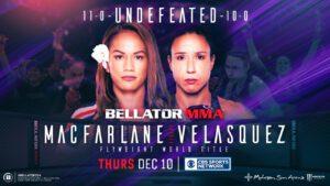 MMA News: Ilima-Lei Macfarlane, Juliana Velasquez