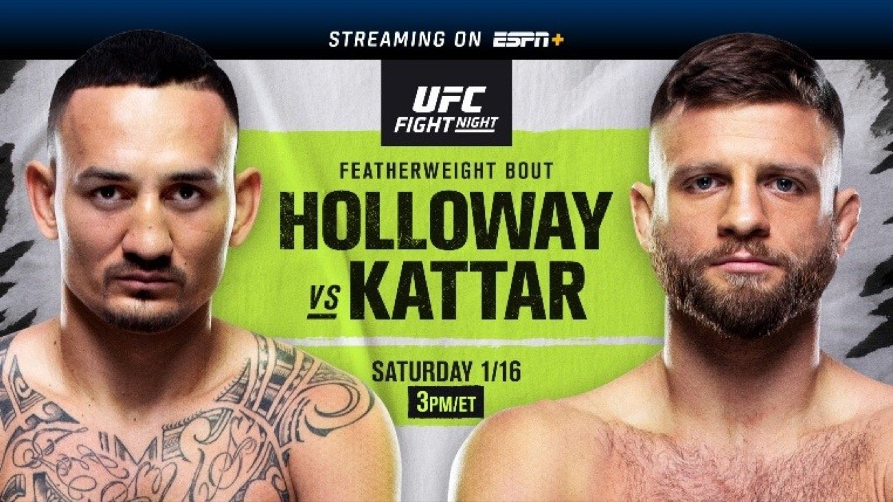 MMA News: Calvin Kattar, Max Holloway