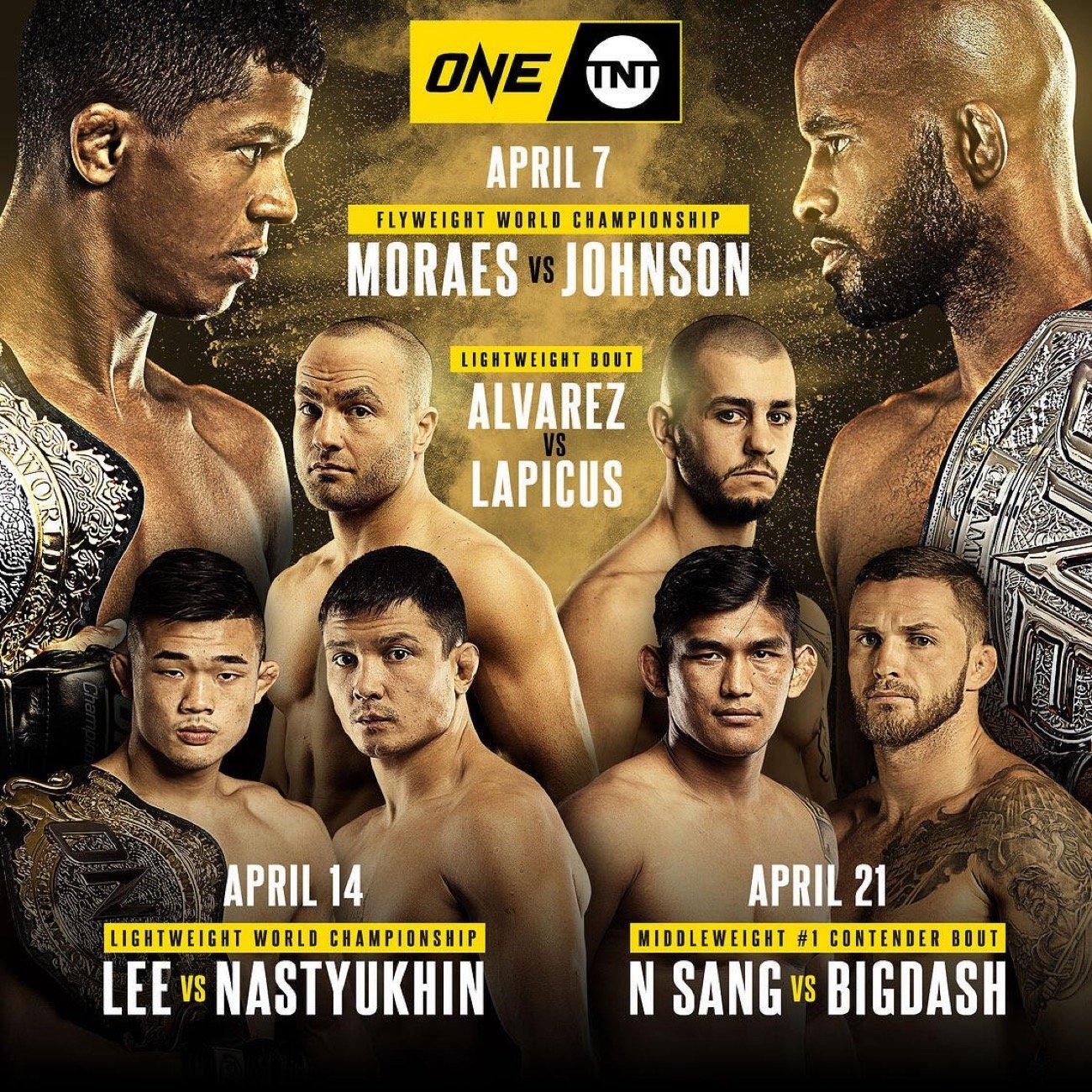 MMA News: Adriano Moraes, Aung La N Sang, Christian Lee, Demetrious Johnson