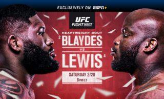 MMA News: Curtis Blaydes, Derrick Lewis