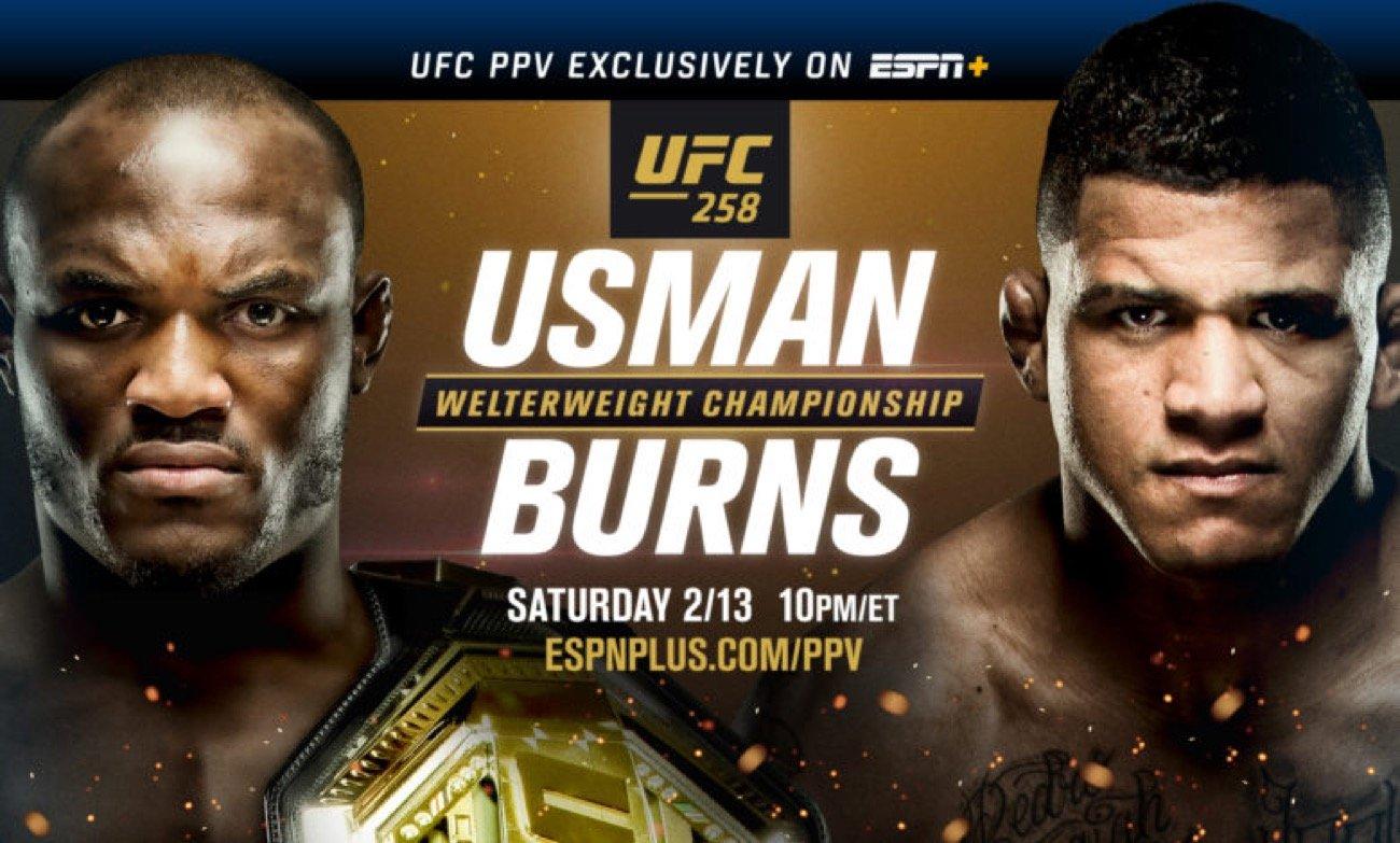 MMA News: Gilbert Burns, Kamaru Usman